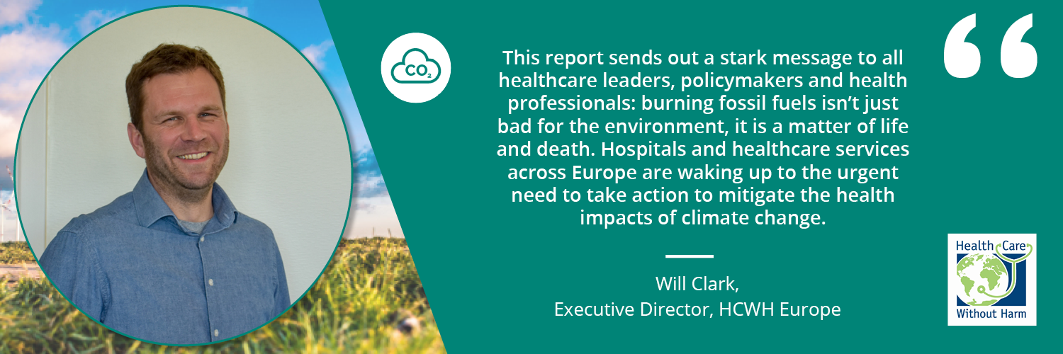 Quote by Will Clark, Executive Director, HCWH Europe
