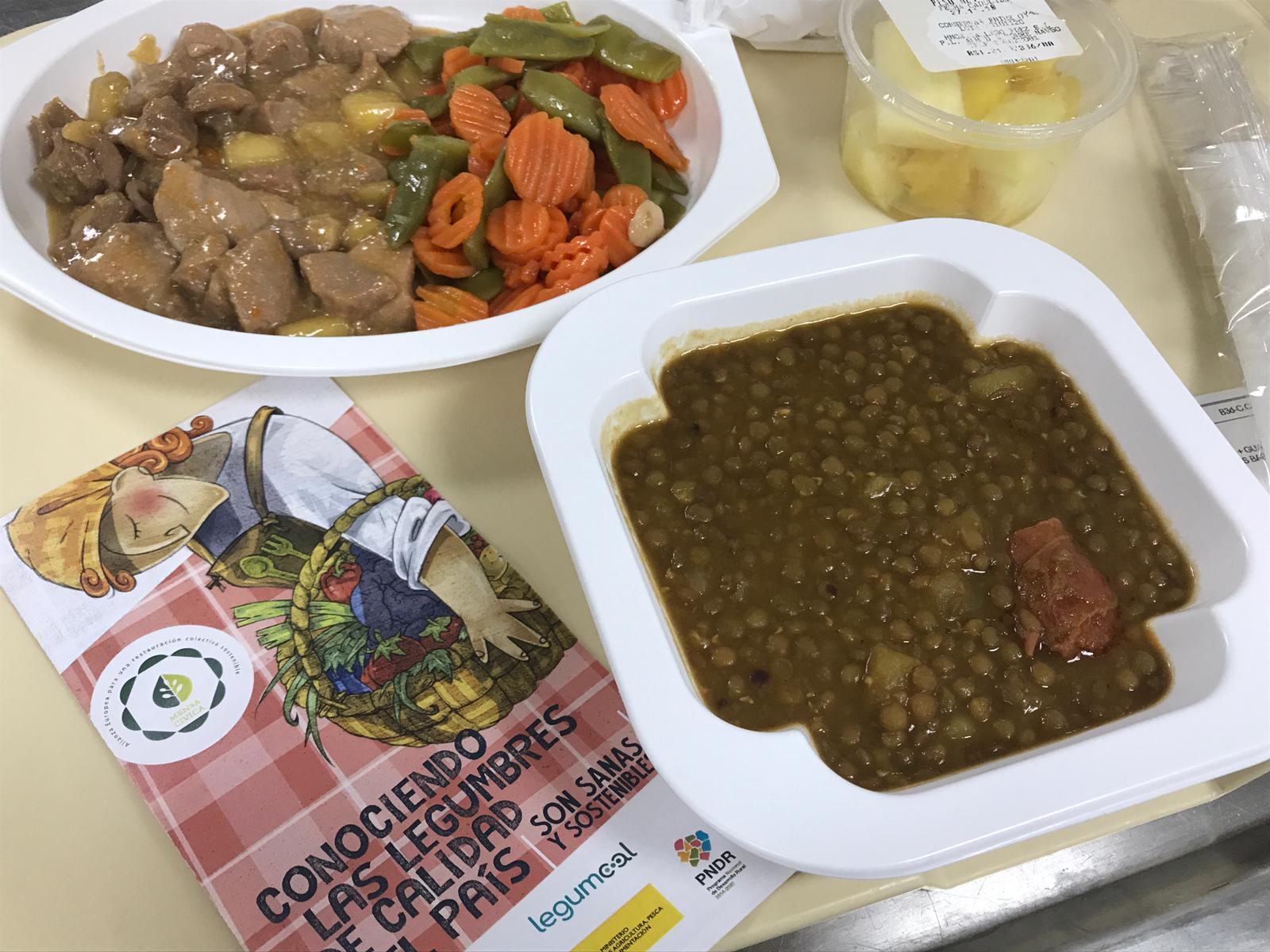 The Regional University Hospital of Malaga. Its pottage of lentils.