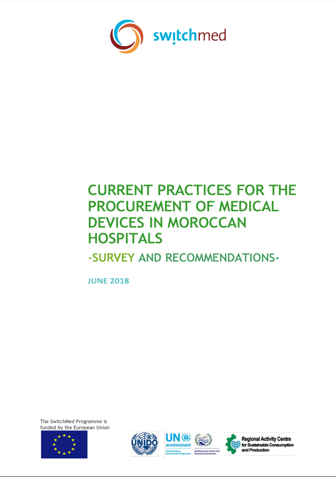 CURRENT PRACTICES FOR THE PROCUREMENT OF MEDICAL DEVICES IN MOROCCAN