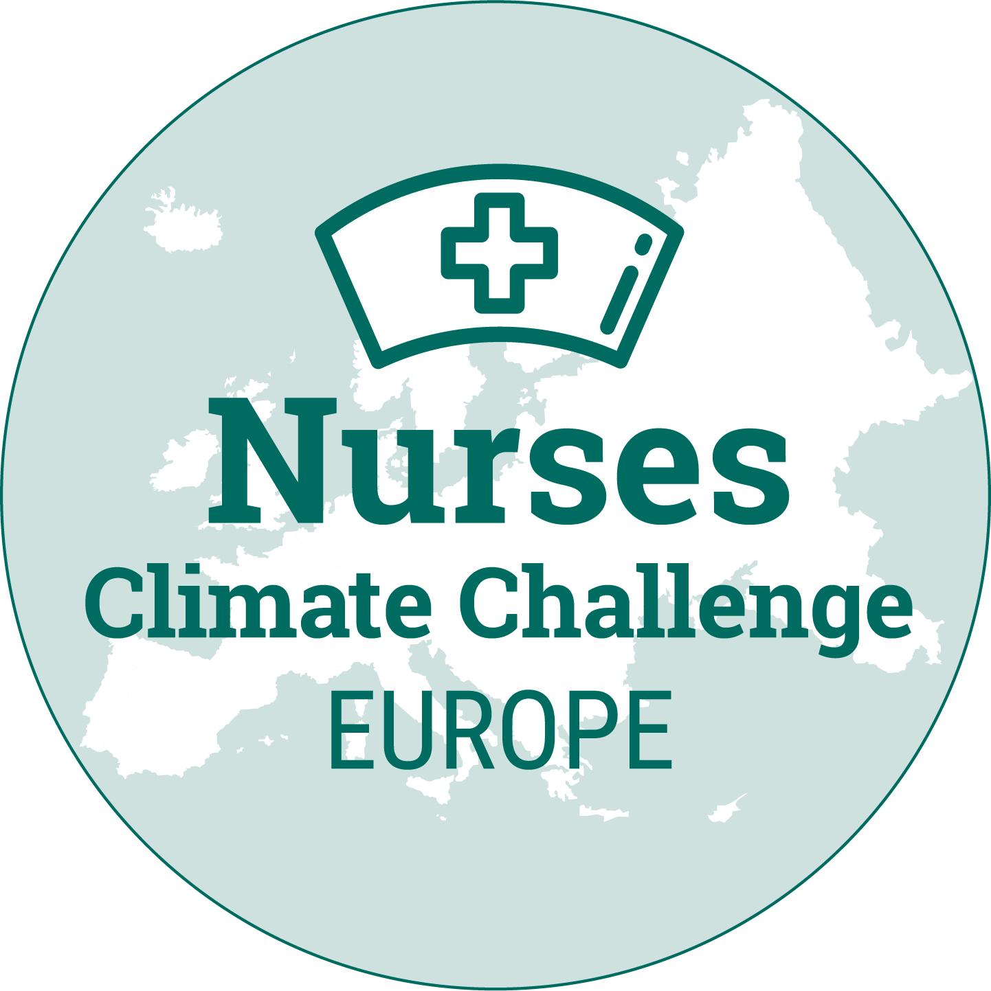Nurses Climate Challenge Europe logo