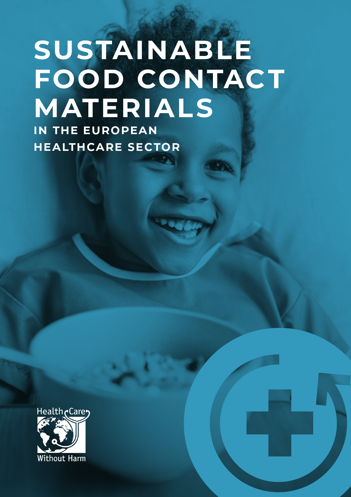 Sustainable food contact materials in healthcare